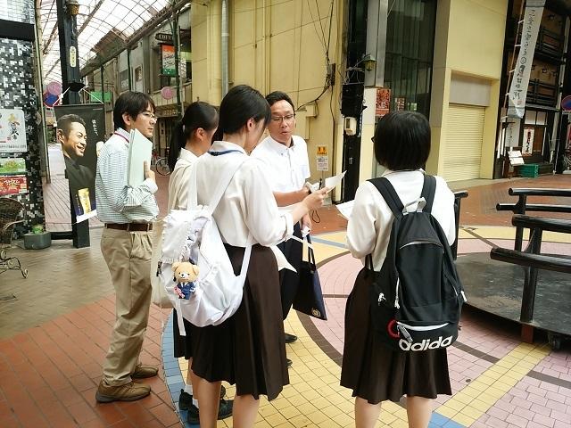 四日市商業高校「シティ・マネジメント地域交流講座」Web課題研究完成2