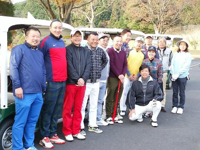 2019商連ゴルフ大会開催1