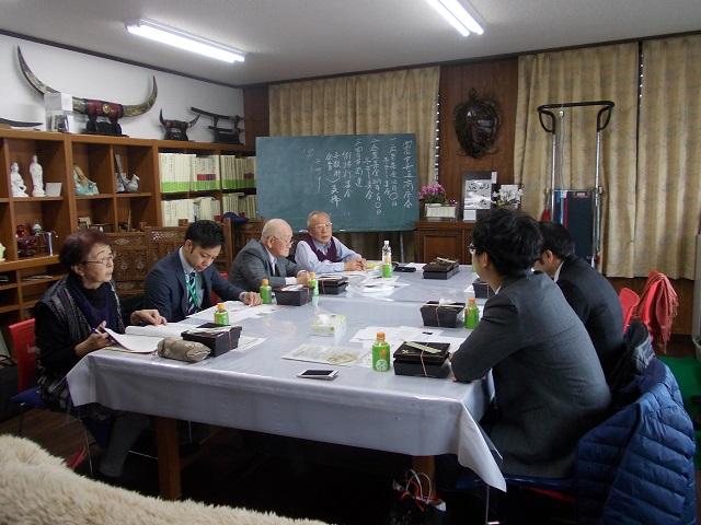 四日市市富田中央通り商店会役員会2