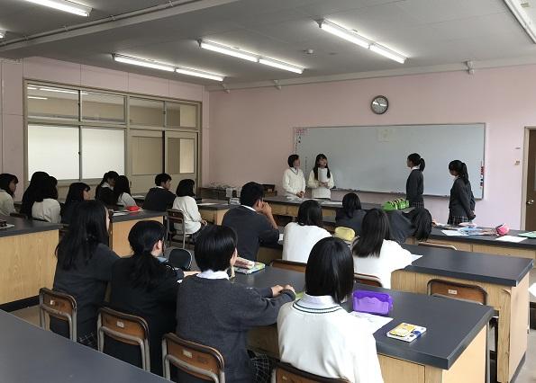 四日市農芸高校生によるアンテナショップチャレンジ事業1