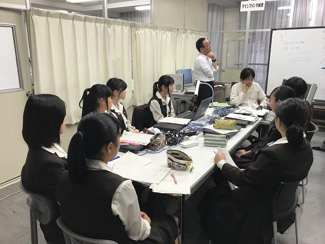 四日市商業高校「シティ・マネジメント講座」勉強会2