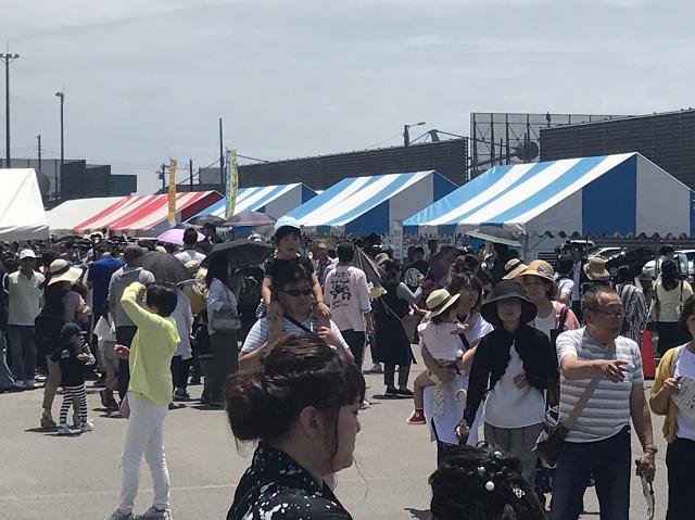 豪華客船ダイヤモンドプリンセス号四日市港に初入港4