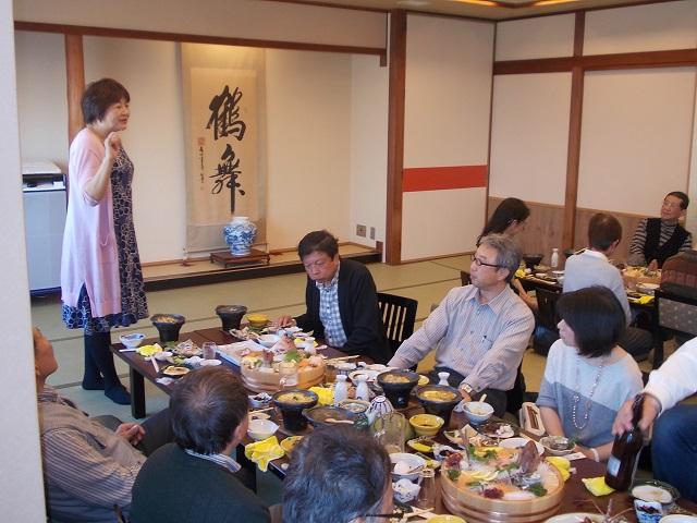 日商店連合会労務部慰安旅行「日間賀島たこ会席」6